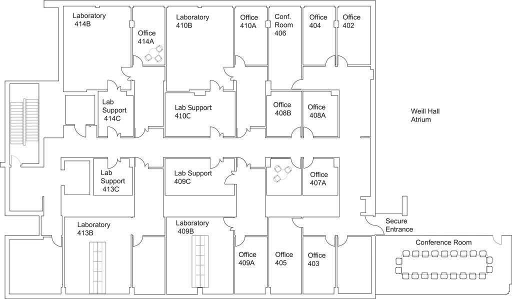 The McGovern Center Floor Plan